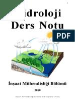 Hidroloji Ders Notu
