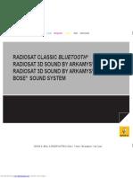 Radio cd Arkamys 3d Renault