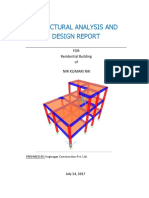 Structural Analysis and Design Report using SAP2000.pdf