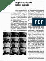Revista de la UNAM, 32 mayo 1978 - La riesgosa navegación del escritor exiliado