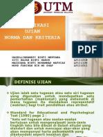 Week 3 - Ujian Norma Dan Kriteria