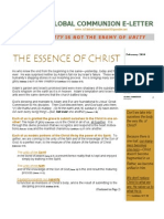 THE ESSENCE OF CHRIST