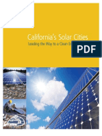 California's Solar Cities