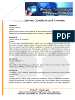 CCNA Interview Question & Answer