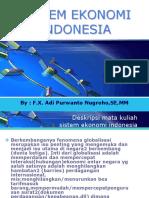 1 Sistem Ekonomi Indonesia (Minggu 1)