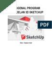 Mengenal Program Pemodelan 3d Sketchup