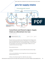 Consortiums and Shared Ledgers_ Supply Chains as a Blockchain Use Case _ George Samuel Samman _ Pulse _ LinkedIn