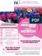 Dasani-Tanzania Breast Cancer Foundation Charity walk