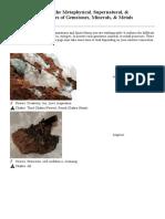 Stone Identification