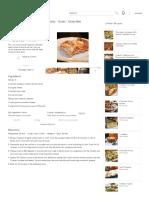 Chicken and Cream Cheese Lasagne Recipe – All Recipes Australia NZ