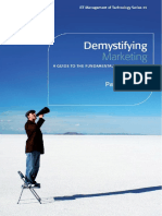 Demystifying Marketing