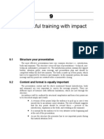 Training With Impact