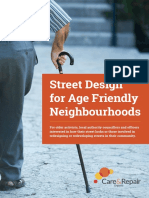 Age Friendly Street Design