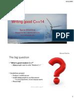 Stroustrup - CppCon 2015 Keynote