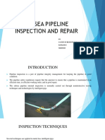 Subsea Pipeline Inspection and Repair