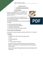 Lección No 19-20