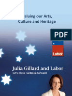 Valuing Our Arts Culture - Heritage