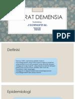 Ppt Demensia Vita
