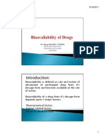 Bioavailability of Drugs