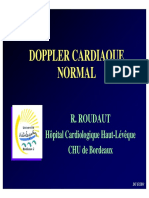 Doppler Cardiaque Normal