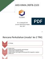 Bahan TRK Modul 2 (Tek Reaktor) - ESR