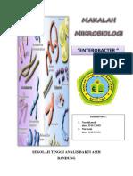Kata Pengantar Daftar Isi Makalah Mikrobiologi