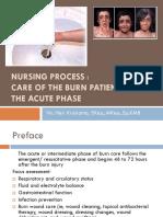 Nursing Process of Burn Pembahasan Kasus