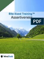 BiteSizedTraining Assertiveness