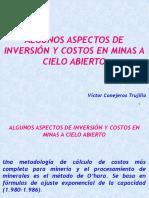 Capítulo 7 - Inversiones, Costos Mina, Precios, Concentrados