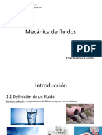 Mecánica de Fluidos-Introducción y Conceptos Fundamentales