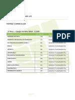 Edificações Integrado Criciúma Matriz Curricular Guia Cursos 2014-001