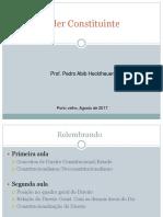 Por Joao Aguiar - NeoConstitucionalismo