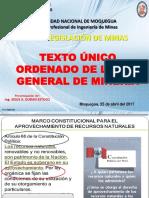 Clase 02_TUO Ley General de Mineria