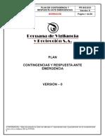 Pr-sig-0xx Plan de Contingencia y Respuesta Ante Emergencia v-0 29-09-14