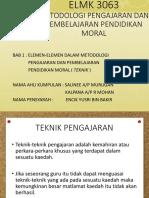 Elemen Metodologi ( Teknik )