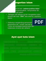 1. Pengertian Islam Dan Sumber Ajarannya
