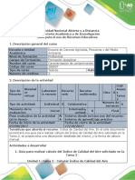 Guía Para El Uso de Recursos Educativos - Cálculo Del Índice de Calidad Del Aire Solicitado en La Tarea 2