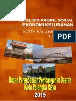 Profil Sosek Kelurahan 2014