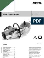Mystery TS400 Manual