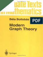 Bollobas - 1998 - Modern Graph Theory, Graduate Texts in Mathematics 184, Springer 1998