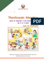 Guia Planificacion Educativa Ciclo1-UGEL07