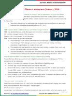 Banking & Finance Awareness 2016(Jan-Sep) by AffairsCloud
