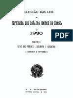 Colleccao Leis 1930  - Parte1