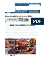 Describing Different Parts of SCBA