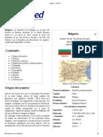 Bulgaria - EcuRed