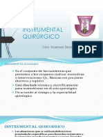 Instrumental Quirúrgico Clinica