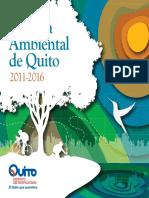 Agenda Ambiental Dmq 2011_2016