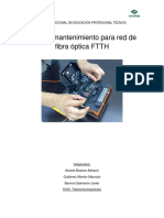 Mantenimiento Ftth