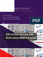 Industry Keynote Disrupting Digital Business Cloud in a Post-Sale, On-Demand, Attention Economy