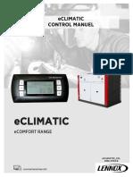 ECLIMATIC User Manual 1703 English